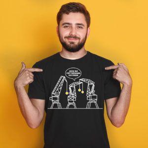 Koszulka MC - jadę na frytkebaba